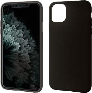 エレコム iPhone 11 Pro Max ケース シリコン 柔軟+耐衝撃 [やわらかい素材で衝撃を吸収] アンチダストコートでホコリを防ぐ ブラック PM-A19DSCBK