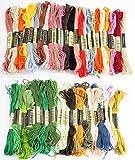 刺繍糸 50色 50束 DMC 糸 25番 対応 クロスステッチ まとめ買い (100色)