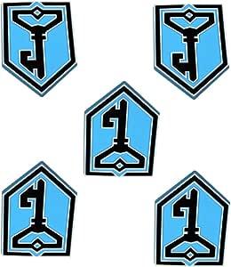 5PCパックのIngress抵抗キーロゴマグネット