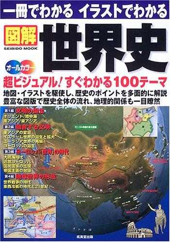 一冊でわかるイラストでわかる図解世界史—地図・イラストを駆使 超ビジュアル100テーマ (SEIBIDO MOOK)