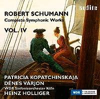 シューマン : 交響作品全集 第4巻 (Robert Schumann : Complete Symphonic Works Vol. IV / Patricia Kopatchinskaja | Denes Varjon | WDR Sinfonieorchester Koln | Heinz Holliger) [輸入盤] [日本語帯・解説付]