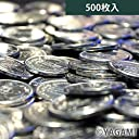 YAGAMI パチスロ用 メダル コイン 500枚 25パイ 【統一絵柄】 おもちゃ ごほうび プレゼント ギフト用