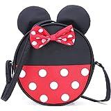 Cute Little Girls Crossbody Purse Toddler Minnie Mouse Purse Wallet Disney Crossbody Bag Handbags
