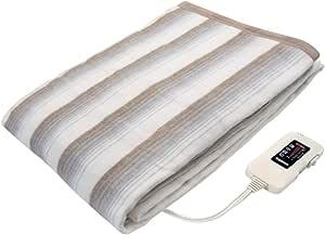 Sugiyama 電気掛敷兼用毛布 洗える 日本製 NA-013K