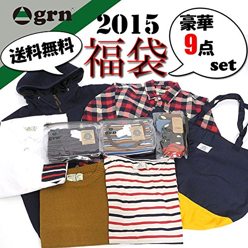 (ジーアールエヌ) grn 2015年度版 福袋 メンズ HAPPY BAG grn-ghb2015 (2(M))
