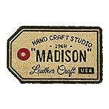 コイヤマット Studio Madison - スタジオ マディソン - ブラウン 幅55×奥行33cm (厚み1.5cm) TJ-1769 インターフォルム(Interform) TJ-1769