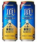 ビール 新ジャンル 頂 極上ZERO サントリー 500ml 48本 (2ケース)