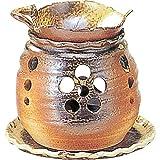 常滑焼 ゆとり 茶香炉・エ38-06
