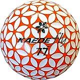 KAEDE ゴルフボール (カエデフライ)非公認球 1ダース オレンジ×ホワイト 驚愕の飛距離!