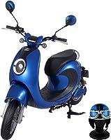 【Amazon.co.jp限定】 電動バイク XEAM notte V2 ロイヤルブルー【限定特典】 専用ヘルメット ロイヤルブルー XM-AZNRBLHGRBL