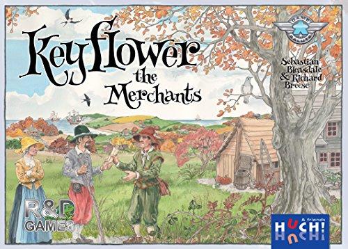 キーフラワー拡張セット 商人たち (Keyflower : The Merchants) ボードゲーム
