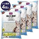 【4個入 販売】固まる紙砂 ホワイト 14.5L 4個入