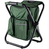 Dratumyoi アウトドア 折りたたみチェア バックパックチェア 椅子付リュック 防水保温保冷パック 超軽量 耐荷重150kg 持ち運びやすい 収納簡単 多機能 キャンプ、釣り 4色