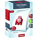 Miele 9917710 Vacuum Bags, Silver pack of 4