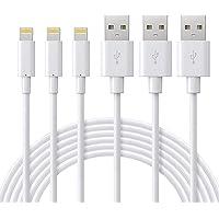 Quntis iPhone 充電ケーブル 2m 3本 Mfi認証 ライトニングケーブル 純正 USBケーブル 充電コード…