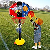 バスケットボールセット子供用おもちゃ – 調節可能な高さby coerni