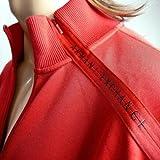 ジャージートラック ジャケット 肩ロゴジップ 赤 10007976 アルマーニ・エクスチェンジ(A/X)画像②