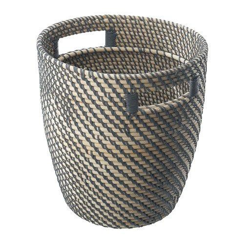 IKEA(イケア) R?GKORN 24 cm 80213776 鉢カバー、籐