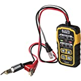 Klein Tools VDV500-063 Wire Tracer Tone Generator, Toner-Pro, Phone (RJ11 and RJ12), Data (RJ45) Coax and Other Non-Energized