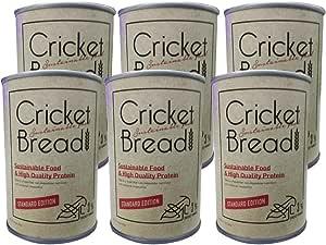 コオロギ粉末入り 備蓄用パンの缶詰 チョコチップ味 100g×6個