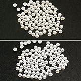 パールストーン 丸半2mm 800粒 ホワイト