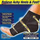 Ezonedeal Foot Angel Compression Socks Foot Sleeve Plantar Arthritis Sore Achy Heel Pain Anti Fatigue Socks for Ankle Swellin