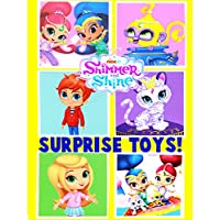 Shimmer and Shine Nick Jr. Surprise Boxes! Blind Bags and Mashems