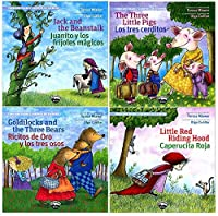 Becker's School Supplies Timeless Tales Bilingual Book Set (Set of 4 Books) [並行輸入品]