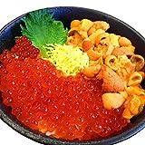 無添加ウニ100g×2パック、北海道産イクラ100g×2パック 海鮮丼セット