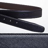 Begin6月号掲載商品バックルなし サフィアーノ Made in Italy ジョルジオ スタメッラ ブランドベルト交換用 ズボン用替えベルト120cm×35cm