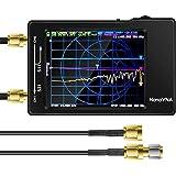 Elikliv「最新進化版」アンテナネットワー クアナライザNanoVNA 50KHz-1.5GHz 2.8インチLCDデジタルディスプレイタッチスクリーン短波MF HF VHF UHFアナライザ定在波 DIY