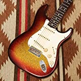 Fender Custom Shop/Master Build Series 1961 Stratocaster Relic 3TS Sparkle by Jason Smith -2009-