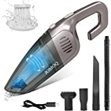 JOMOQ Handheld Vacuum Cordless Cleaner, Handheld Vacuums 7000PA USB High Power Small Hand Vacuum Cordless Rechargeable, Wet/D