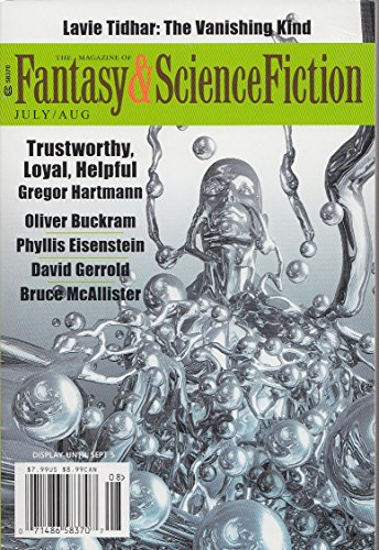 Download The Magazine of Fantasy & Science Fiction July/August 2016 (The Magazine of Fantasy & Science Fiction Book 131) (English Edition) B01M0G0LES