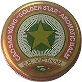 Cao Sao Vang Vietnamese Gold Star Balm 10 gram Tin