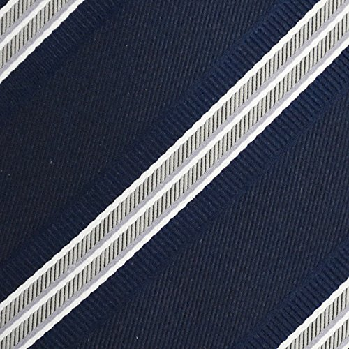 (ピエールタラモン) Pierre Talamon 日本製 西陣織 メンズ ビジネス ジャガード織 シルク 100% ネクタイ 8cm ストライプ 柄 タイプB mtk-10116 04