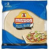 Mission Italian Pizza Base, Plain, 2 round pizza bases, 200g
