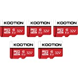 KOOTION 5 X 32 GB Micro SD Card Ultra Class 10 Micro SDHC Memory Card UHS-I High-Speed TF Card R Flash, C10, U1