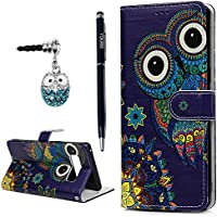 (Cute Owl) - Note 8 Wallet Case, YOKIRIN Premium PU Leather Wallet Flip Protective Skin Case with Magnetic Closure Card/Cash Slots Shock-Absorption TPU Inner Cover for Samsung Galaxy Note 8, Cute Owl