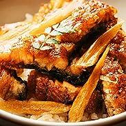 鰻楽 (うなぎ専門店) 純国産 鰻の蒲焼き (特製たれ/山椒付き) ギフト [化粧箱入り]