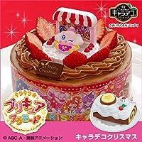 【イチゴシーズン限定】キャラデコクリスマス キラキラ☆プリキュアアラモード 5号 15cm チョコクリームショートケーキ (お届け希望日:12月20日)