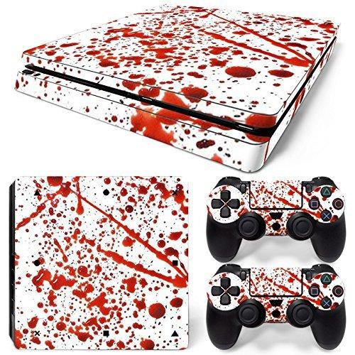 ModFreakzR Console/Controller Vinyl Skin Set - Blood Spray for PS4 Slim [並行輸入品]