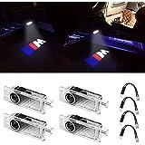 Grolish Car Door LED Logo Lighting Projector Welcome Lights(4-Pack)
