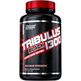 Nutrex Research Tribulus Black 1300 Testosterone Support 120 Capsules, 120 count