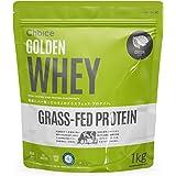 Choice GOLDEN WHEY ( ゴールデンホエイ ) ホエイプロテイン ココア味 1kg [ 有機ココア使用 / 乳酸菌ブレンド / 人工甘味料不使用 ] GMOフリー タンパク質摂取 グラスフェッド ( プロテイン / 国内製造 ) 天然