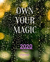 Own Your Magic: Manifestation Planner With Vision Board And Visualization - 2020 Planner Weekly, Monthly And Daily | Jan 1, 2020 to Dec 31, 2020  Planner & calendar | New Year's resolutions & Goal Setting For Each Week Of The Year - law of attraction work