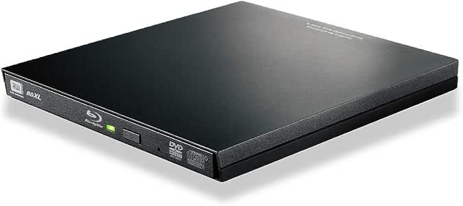ロジテック BD ブルーレイドライブ 外付け ポータブル USB3.0 Microsoft Surface対応 再生・編集ソフト付 USBType-Cコネクタ付 ブラック LBD-PVA6UCVBK