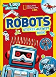 National Geographic Kids Robots Sticker Activity Book 画像