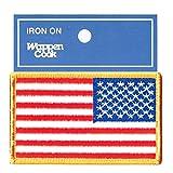 ミリタリーワッペン アメリカ国旗パッチ 星条旗 右肩用 MS カラー