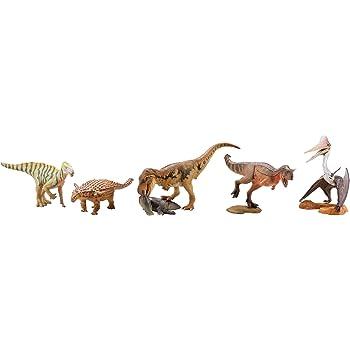 ミニチュア キューブ miniQ 恐竜造形最前線 PVC製 塗装済み 完成品 8個入 BOX